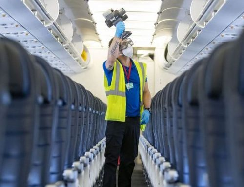 Boeing initial research findings on semi-automated disinfection methods